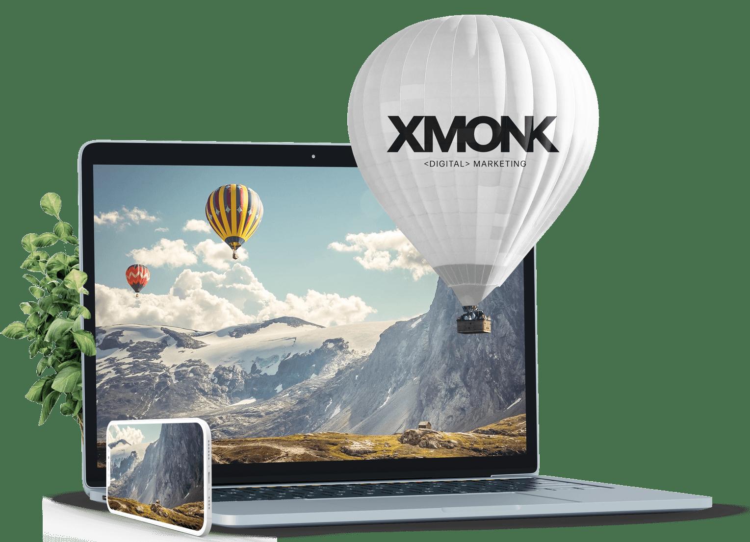 ballon visual 1 XMONK